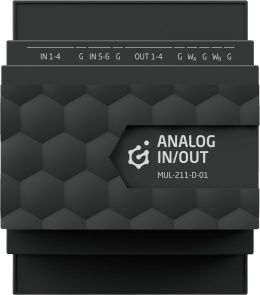 GRENTON ANALOG IN/OUT, DIN, TF-Bus, 1-wire | MUL-211-D-01