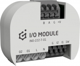 GRENTON I/O MODULE 2/2, Flush, TF-Bus, 1-wire | INO-222-T-01
