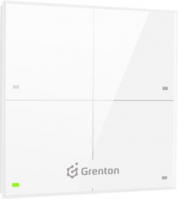 GRENTON TOUCH PANEL 4B, TF-Bus, biały | TPA-204-T-02