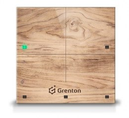 GRENTON TOUCH PANEL 4B, TF-Bus, CUSTOM WOOD LIGHT | TPA-604-T-02